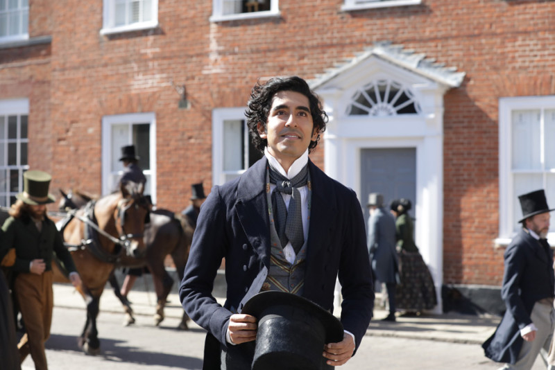 Dev Patel in the film THE PERSONAL HISTORY OF DAVID COPPERFIELD. Photo by Dean Rogers. © 2019 Twentieth Century Fox Film Corporation All Rights Reserved