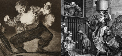Prints of Darkness: Goya and Hogarth in a Time of European Turmoil